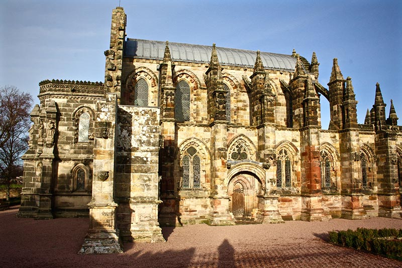 Rosslyn Chapel: can you find the Holy Grail?